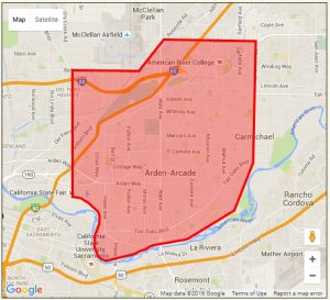 "Aerial spraying to control mosquitoes infected with West Nile Virus in the area of Arden Arcade and Carmichael scheduled on June 22nd and 23rd from approximately 8:00pm to midnight. Sign up for live updates by texting ""sprayupdate"" to 31996."